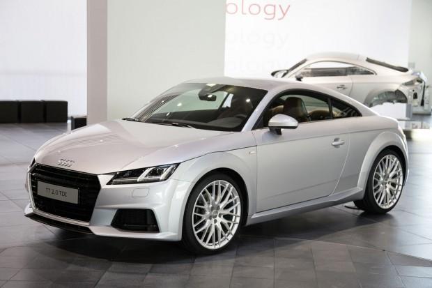 Der neue Audi TT hat statt herkömmlicher Rundinstrumente... (Bild: Audi)