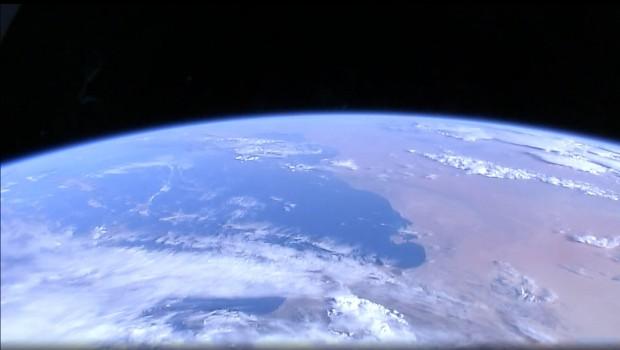 Die Erde von ganz oben: HDEV liefert einen Blick von der ISS - rechts ist die nordafrikanische Küste zu erkennen. (Bild: HDEV/Screenshot: Golem.de)