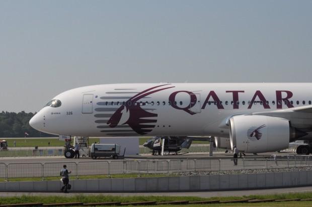 Qatar Airways wird die erste Fluggesellschaft sein, die mit dem Airbus A350 XWB ausgestattet wird. (Foto: Andreas Sebayang/Golem.de)