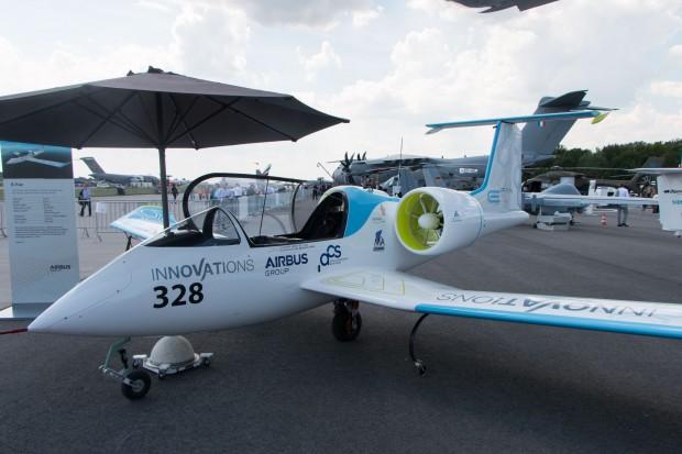Der Prototyp des E-Fan von Airbus auf der Ila 2014 (Foto: Werner Pluta/Golem.de)