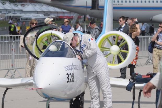 Der Testpilot... (Foto: Andreas Sebayang/Golem.de)