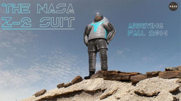Das Design Technology hat das Rennen gemacht: So wird der Prototyp des neuen Raumanzugs Z-2 der Nasa aussehen. (Bild: Nasa)