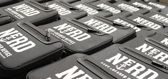 Der E-Book-Reader Navy E-Reader Device, kurz Nerd, wurde im Auftrag der US-Marine entwickelt. (Bild: Findaway World)