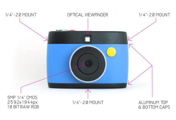 Features von Otto (Bild: nextthing.co/Kickstarter)