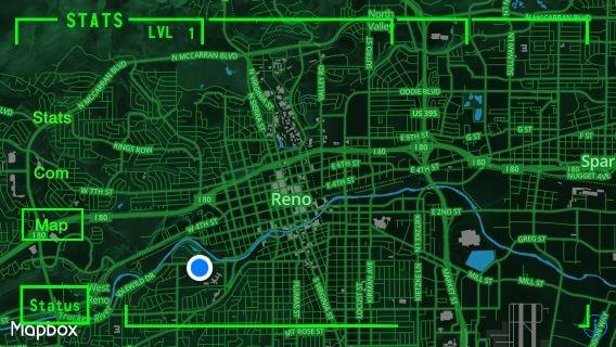 Der Computer am Handgelenk zeigt die Position an... (Bild: Team Reno)