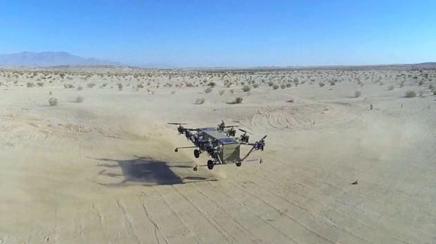 Black Knight Transformer im Flug (Bild: Advanced Tactics)