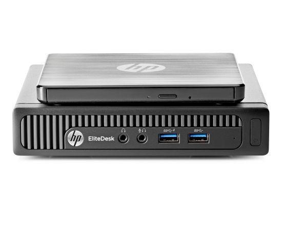 Vom Design her ähnelt der Rechner der Konkurrenz von Lenovo. (Bild: HP)