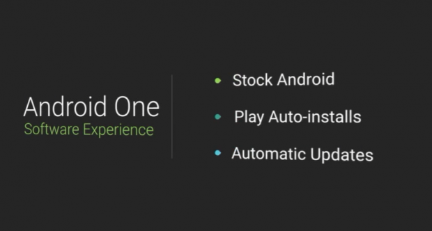 Android One (Screenshot der Google I/O)