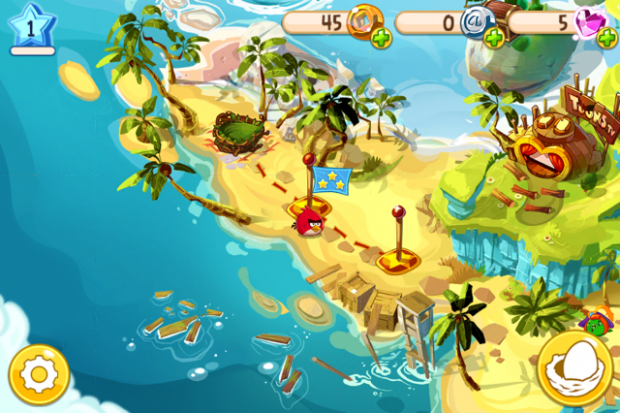 Angry Birds Epic (Screenshots: Golem.de)
