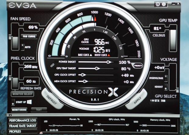 Precision X 5.0 von EVGA. (Fotos: Fabian Hamacher/Golem.de)
