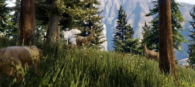 Trailer-Screenshots der PS4-Version von GTA 5 (Bild: Rockstar)