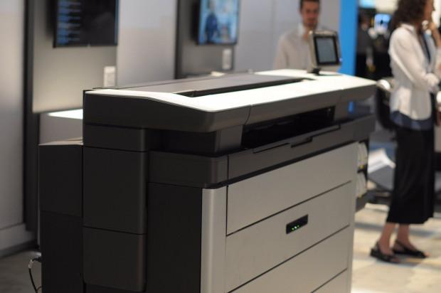 HPs Prototyp eines Großformat-Pagewide-Druckers (Foto: Andreas Sebayang/Golem.de)