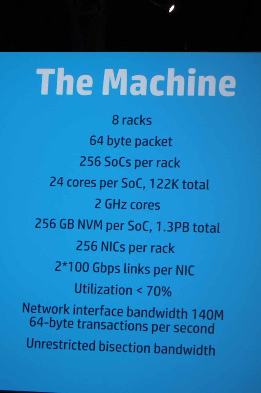 The Machine: HP will den Computer neu erfinden - The Machine in der Supercomputer-Variante. (Foto: Andreas Sebayang/Golem.de)