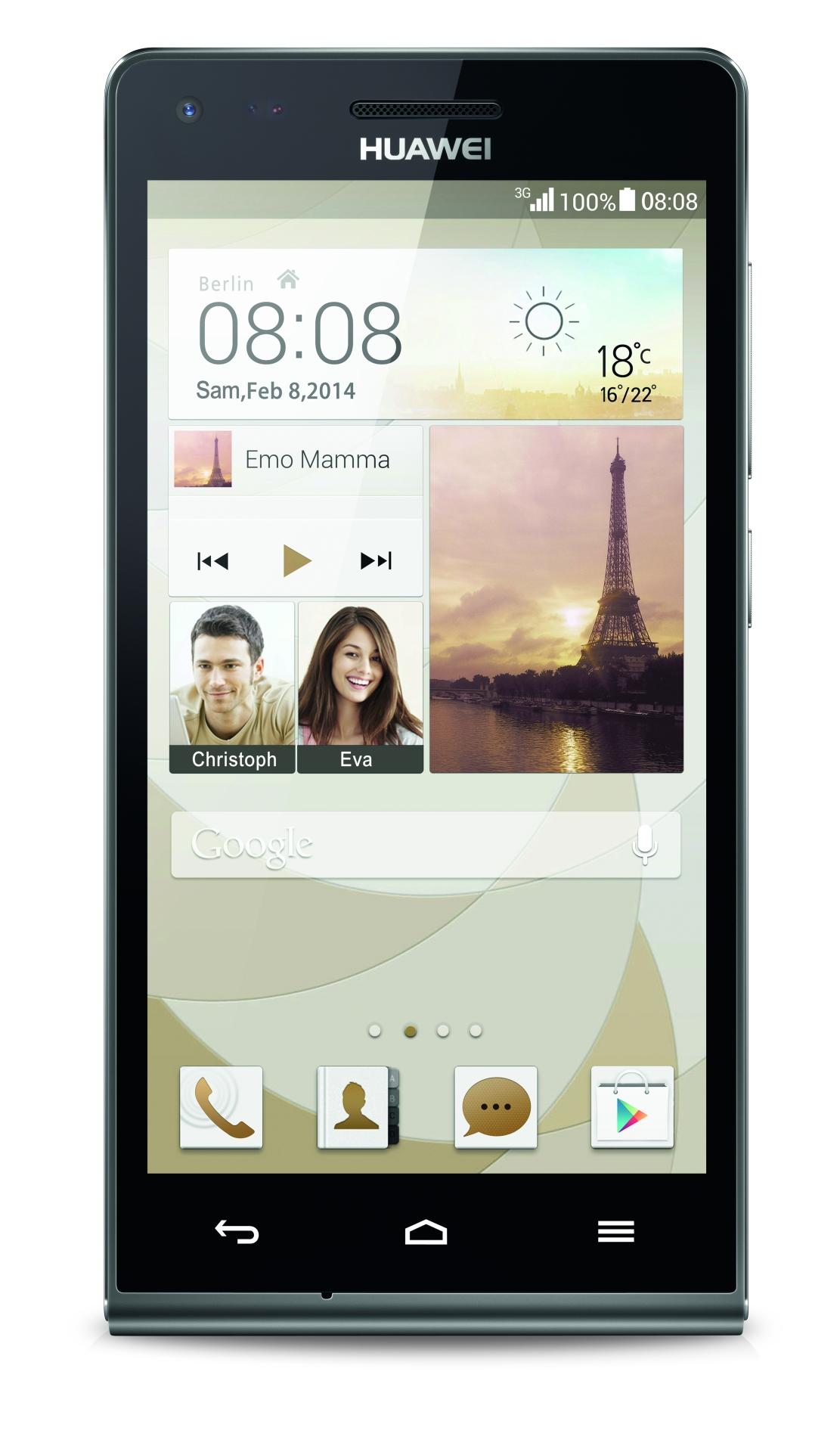 Ascend G6: Huaweis Mittelklasse-Smartphone für 180 Euro erhältlich - Das Huawei Ascend G6 (Bild: Huawei)