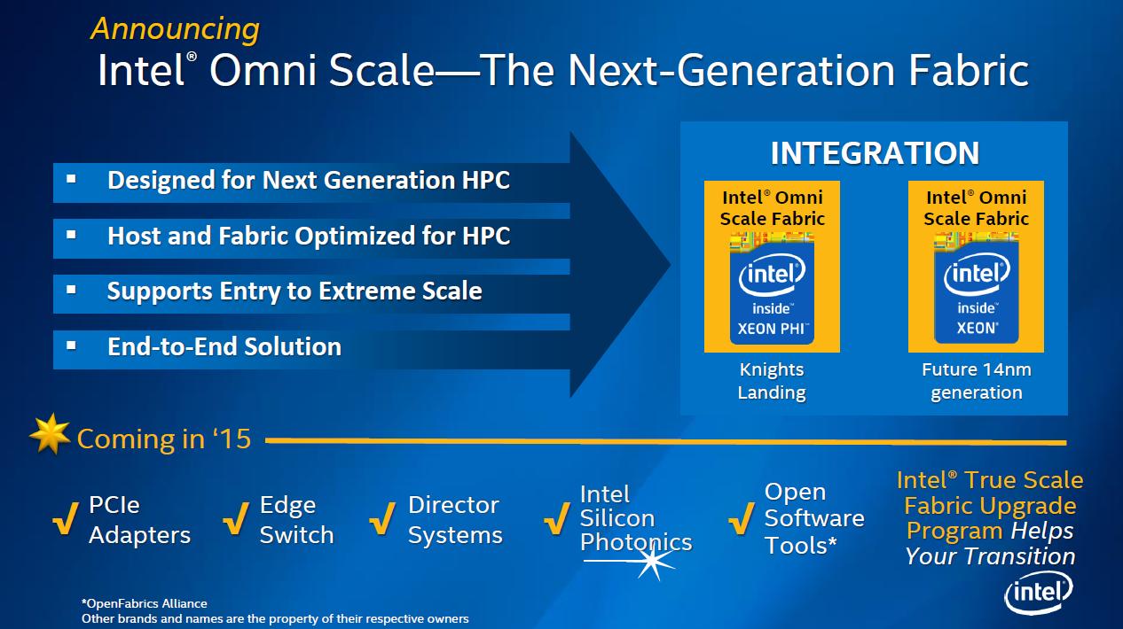 Omni Scale: Xeons und Beschleuniger Xeon Phi ab 2015 optisch verbunden -