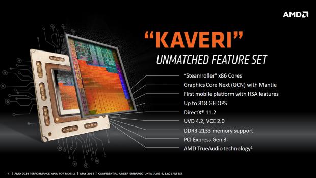 AMD errechnet die GFLOPS anhand der Turbo-Taktraten. (Bild: AMD)
