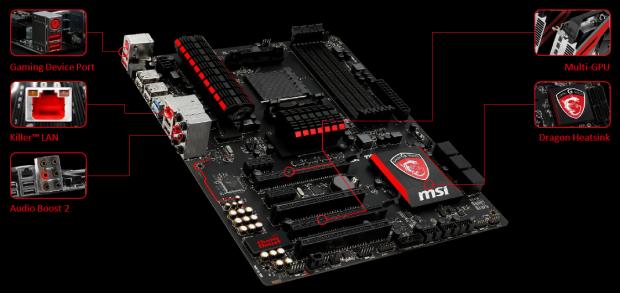 Das 970 Gaming (Bild: MSI)