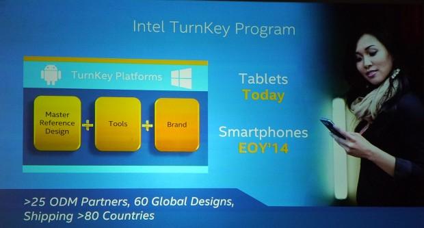 Das Turnkey-Programm soll Intels Marktanteil im Smartphone-Segment erhöhen.