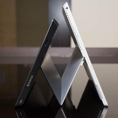 Surface Pro 2 (l.) gegen Surface Pro 3 (Bild: Fabian Hamacher/Golem.de)