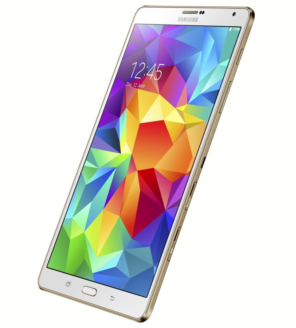 Samsung: Galaxy Tab S mit Super-Amoled erscheint Mitte Juli - Galaxy Tab S 8.4 (Bild: Samsung)