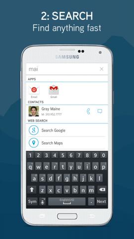 Terrain Home - Android Launcher (Bild: Terrain)