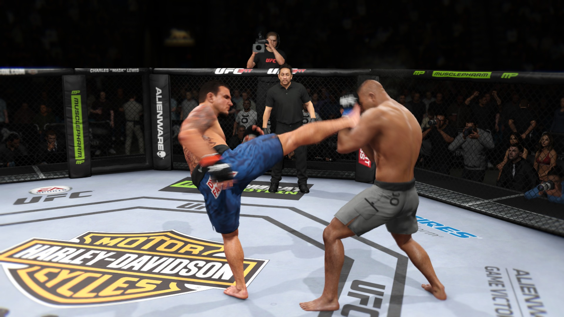 Test EA Sports UFC: Komplex, technisch brillant, ohne Wucht - EA Sports UFC (Screenshot: Marc Sauter/Golem.de)