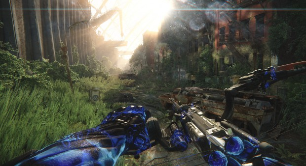 "Crysis 3: Die ""Welcome to the Jungle""-Szene (Screenshot: Marc Sauter/Golem.de)"