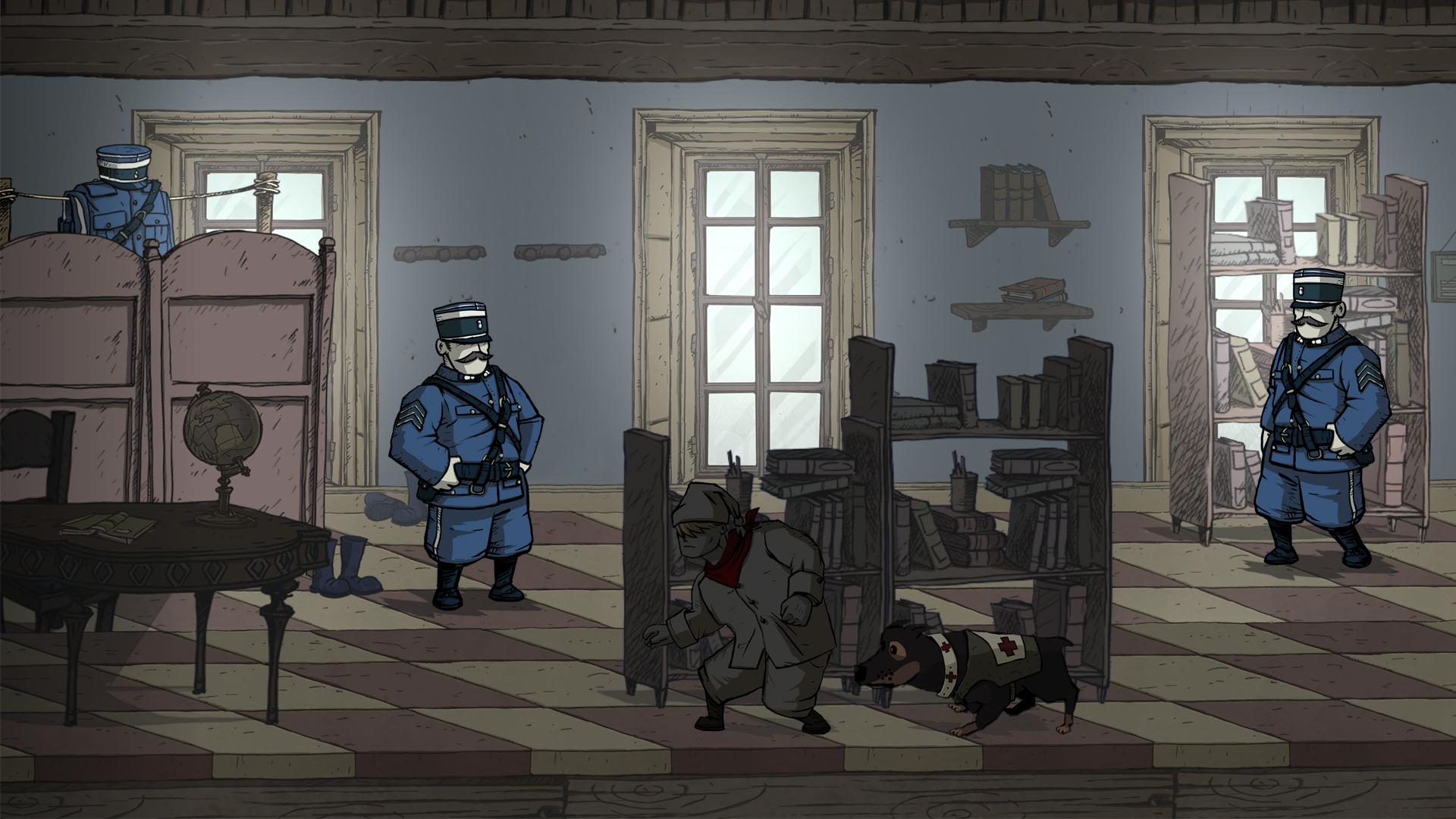 Test Valiant Hearts: Tapfere Herzen im Ersten Weltkrieg - Valiant Hearts (Bilder: Ubisoft)