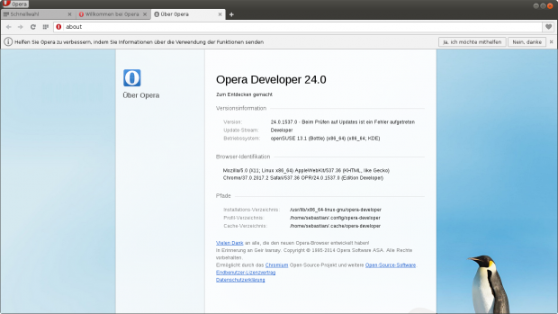 (Bild: Opera/Screenshot: Golem.de)