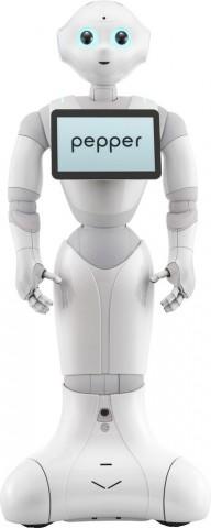 Der humanoide Roboter Pepper... (Bild: Aldebaran Robotics)