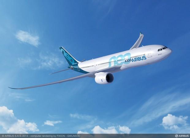Die Winglets des Airbus A330neo... (Grafik: Airbus)