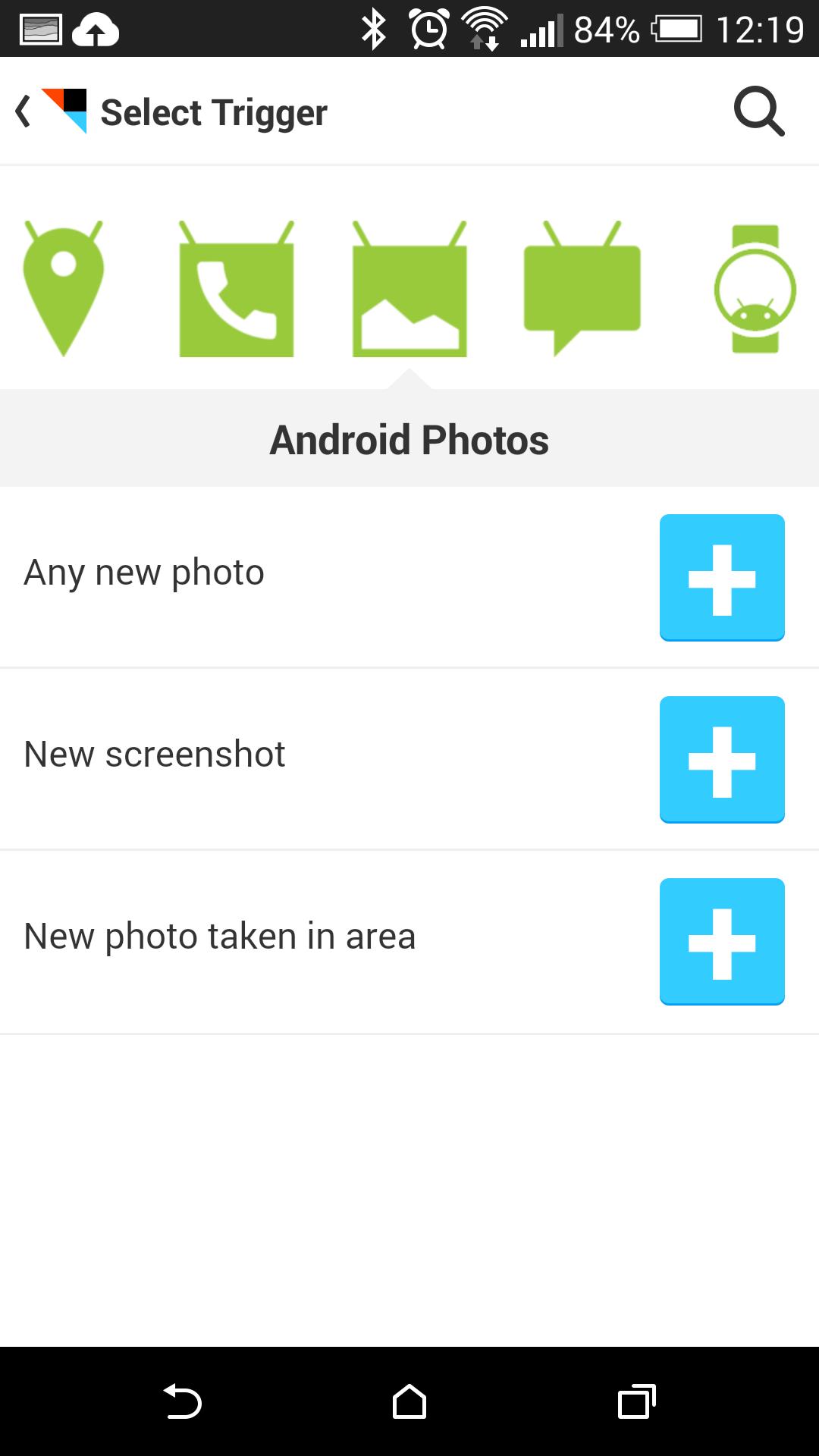 Android Wear: Pimp my watch - ... oder auch Funktionen des Smartphones. (Screenshot: Golem.de)