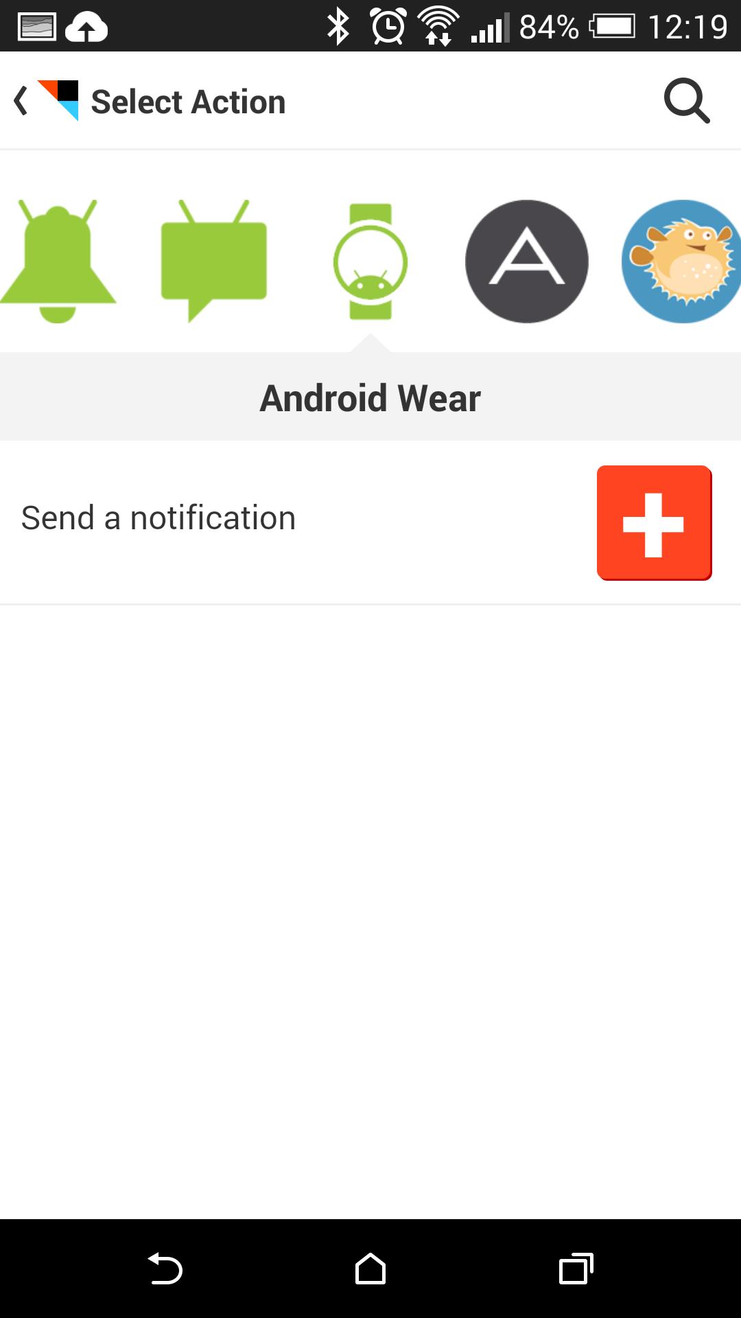 Android Wear: Pimp my watch - ... mit der Benachrichtigungsfunktion der Smartwatch. (Screenshot: Golem.de)