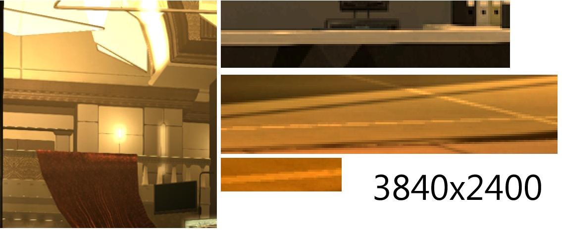 """PC-Spiele mit 4K, 6K, 8K, 15K: """"Spielen mit Downsampling schlägt Full-HD immer"""" -"""