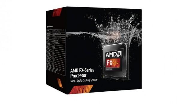 Die neue Verpackung des FX-9590 ... (Bild: AMD)