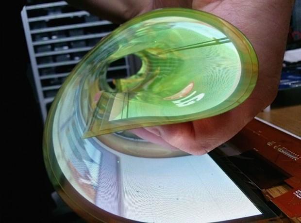 Das rollbare OLED-Panel (Bild: LG)