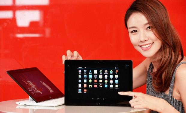 Das neue Android-Convertible von LG: das Tapbook (Bild: LG)