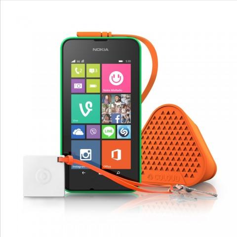 Das neue Lumia 530 von Microsoft (Bild: Microsoft)