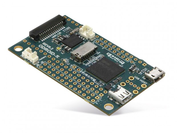 Odroid W - Vorderseite<br>(Foto: Pollin Electronic)