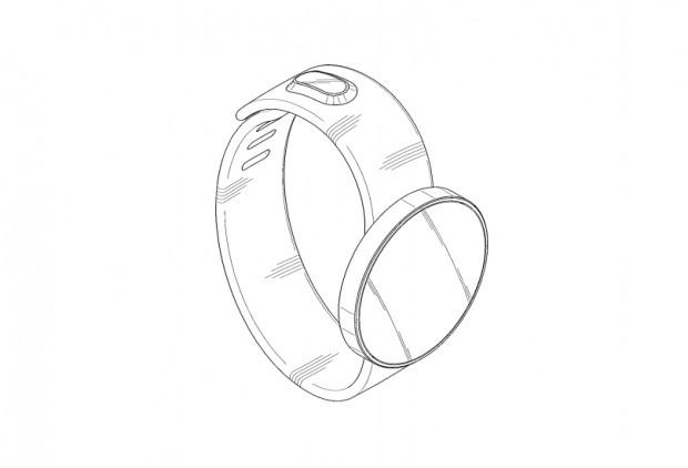 Samsung hat sich drei verschiedene Smartwatch-Designs patentieren lassen. (Bild: USPTO/Samsung)