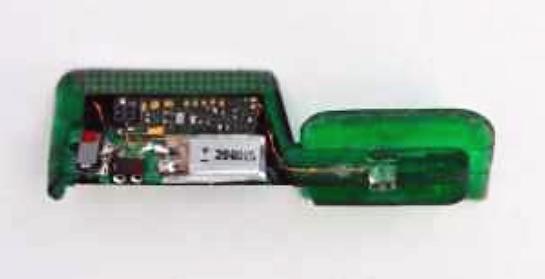 Geldautomaten: Mini-Skimmer sind fast unsichtbar - Der linke Teil dieses Mini-Skimmer verschwindet im Kartenschlitz. (Bild: EAST via Brian Krebs)