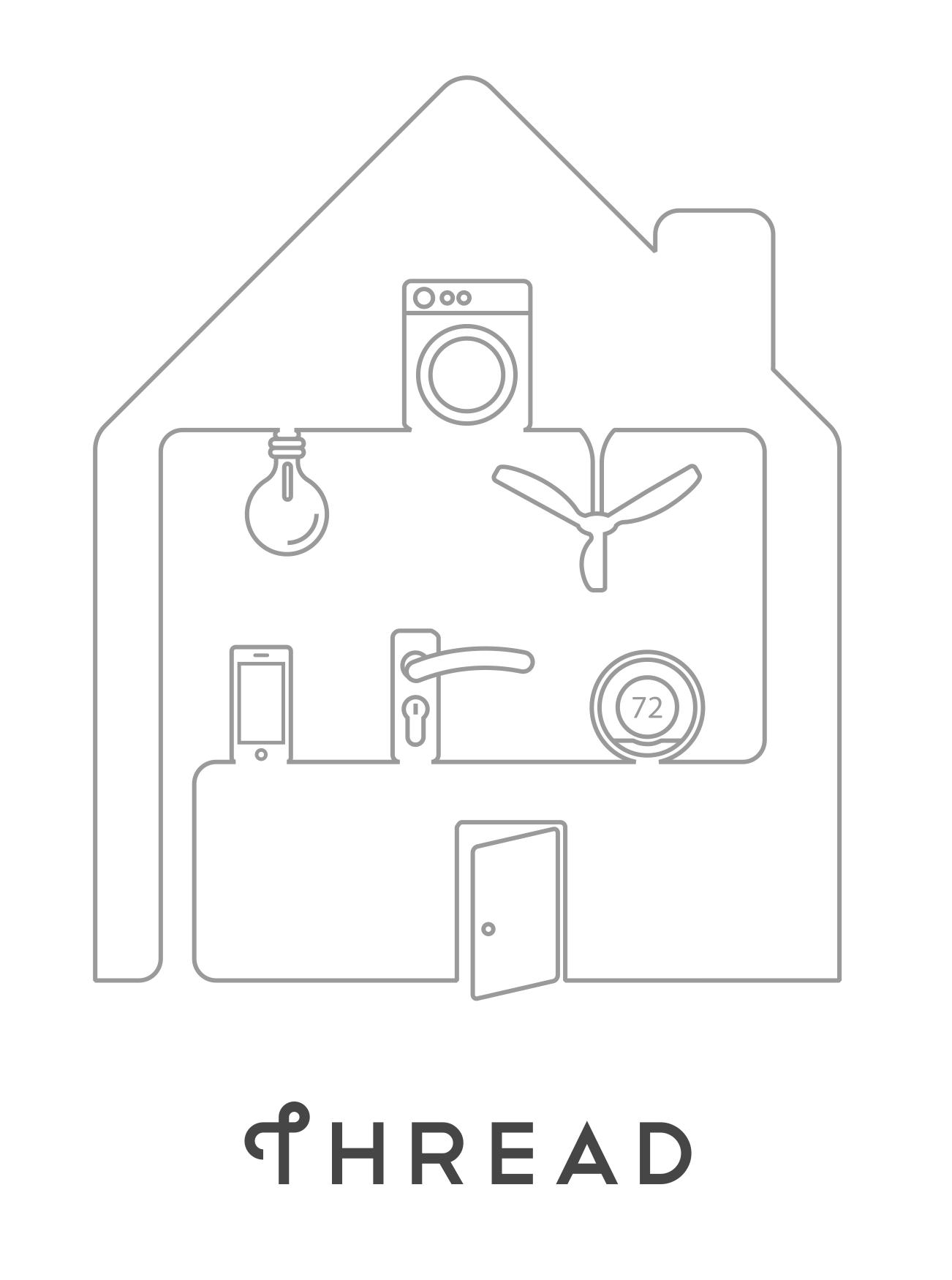 Internet der Dinge: Google, Samsung und ARM mit Thread gegen WLAN und Bluetooth - Ventilatoren, Waschmaschinen etc. - Thread soll das Haus vernetzen.  (Bild: Thread Group)