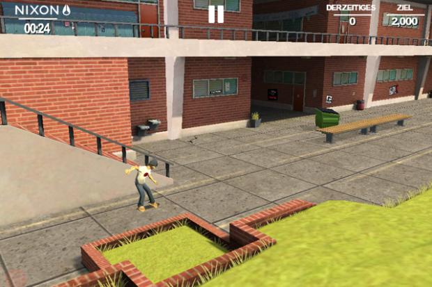 Transworld Endless Skater (Screenshot: Golem.de)