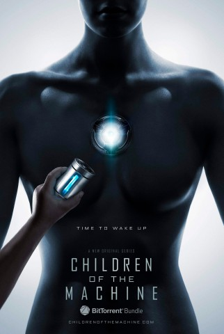 Das Plakat zur Serie Children of the Machine (Bild: Rapid Eye Studios)