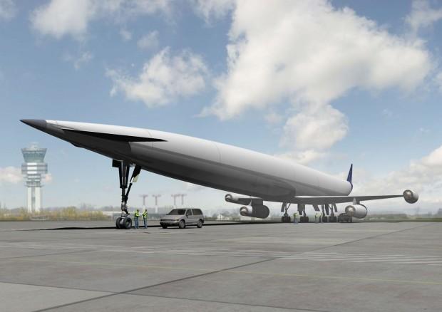 Lapcat A2 ist ein Überschallflieger für 300 Passagiere. (Bild: Reaction Engines)