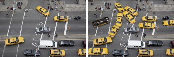 Die Software ermöglicht es, ein Objekt in einem Bild aus einer anderen Perspektive zu zeigen. Sie berechnet anhand von Daten aus dem Netz die nicht sichtbaren Seiten. (Bild: Carnegie Mellon University)