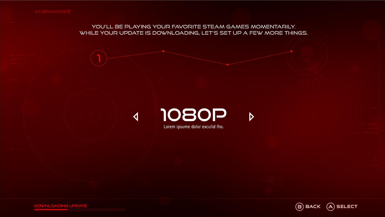 Alienware Alpha ausprobiert: Fast lautlose Steam-Machine mit eigenem Windows-UI - Konfiguration der Alienware Alpha (Bild: Alienware)