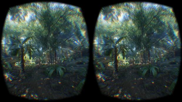 Szene aus der Cryengine-Demo (Screenshot: Crytek)