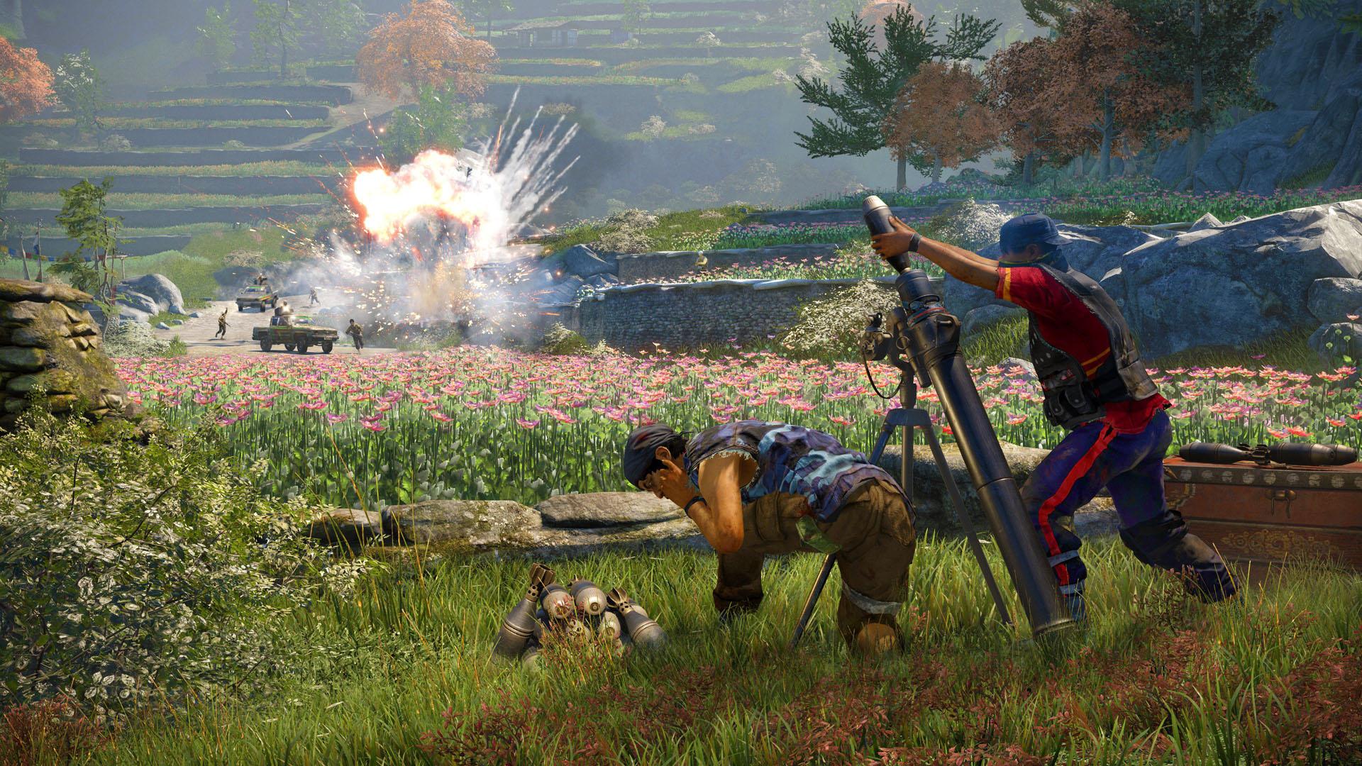 Far Cry 4 angespielt: Schießerei im Shangri-La - Far Cry 4 (Bild: Ubisoft)