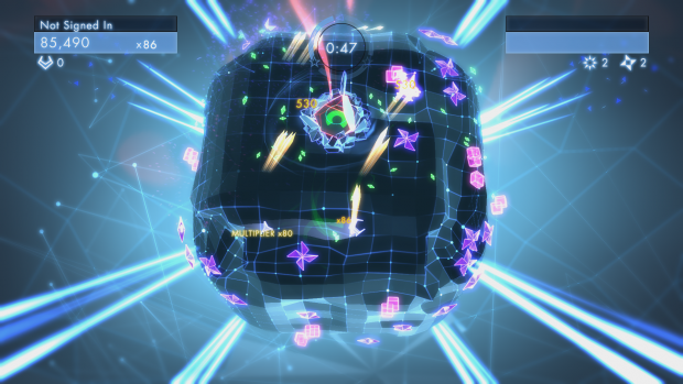 Geometry Wars Dimensions (Bild: Lucid Games)